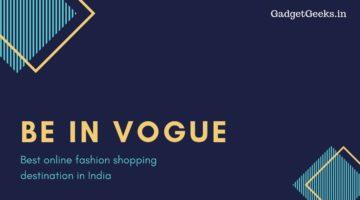 best online fashion shopping destination in India