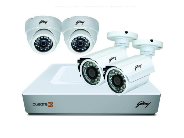 Godrej High Definition 720P Full CCTV Camera KIT