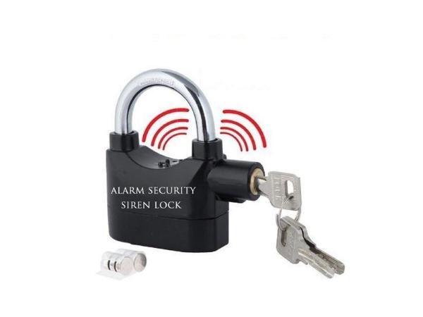 VelVeeta Anti Theft Burglar Pad Lock Alarm