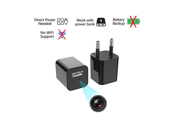 IFITech Mobile Charger Hidden Camera (HD)
