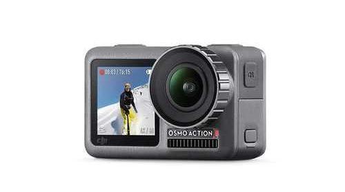 DJI Osmo Action Cam Digital Camera with 2 displays
