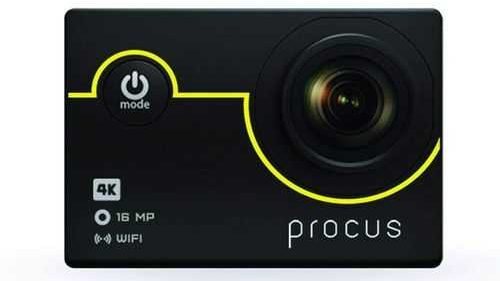 Procus Rush 2.0 16MP 4K HD Action Camera Waterproof with Wi-Fi Basic Pack