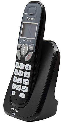 Beetel X70 Cordless 2.4Ghz Landline Phone with Caller ID Display