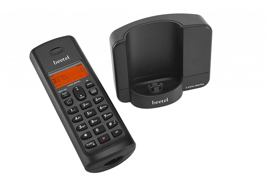 Beetel X90 Cordless 2.4Ghz Landline Phone with Caller ID Display