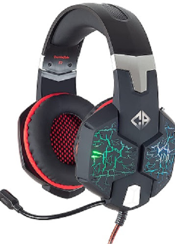 Cosmic Byte G1500 7.1 Channel USB Headset for PC with RGB LED Lights and Vibration