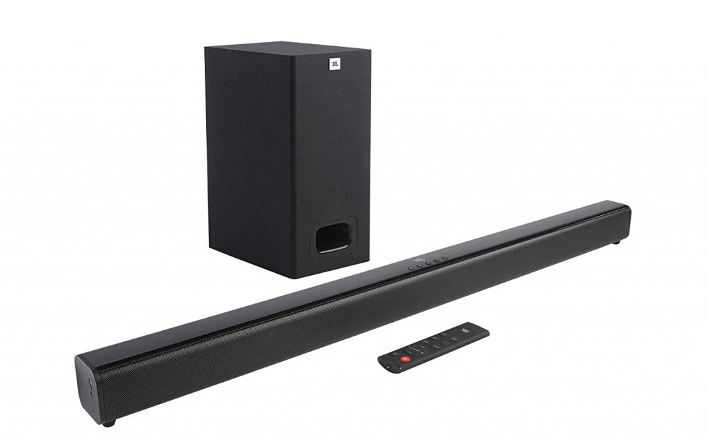 JBL Cinema SB231 Dolby Digital Soundbar and Wired Subwoofer