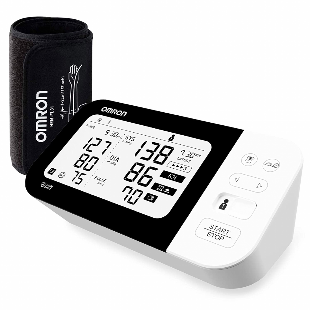 Omron HEM 7361T Bluetooth Digital Blood Pressure Monitor