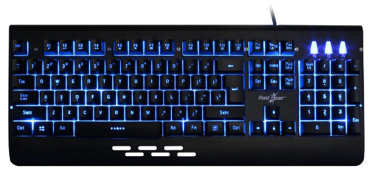 Redgear Blaze Gaming keyboard (Semi Mechanical)