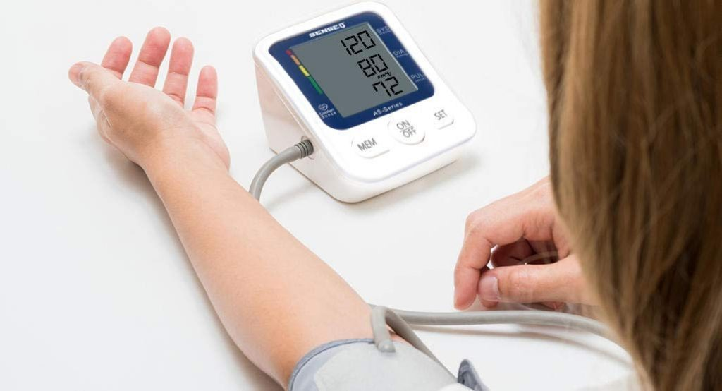 SenseQ by Accusure Fully Automatic Blood Pressure Monitor