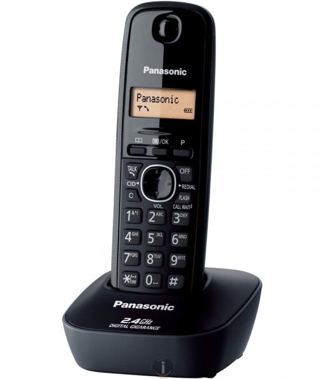 The Panasonic Single Line 2.4 KX-TG3411SX Digital Cordless Phone