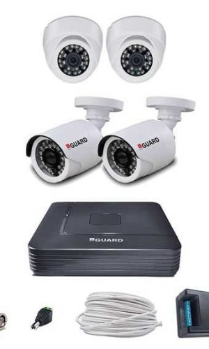 iBall Full HD 1080P 2MP CCTV Cameras With 4Ch HD DVR Kit